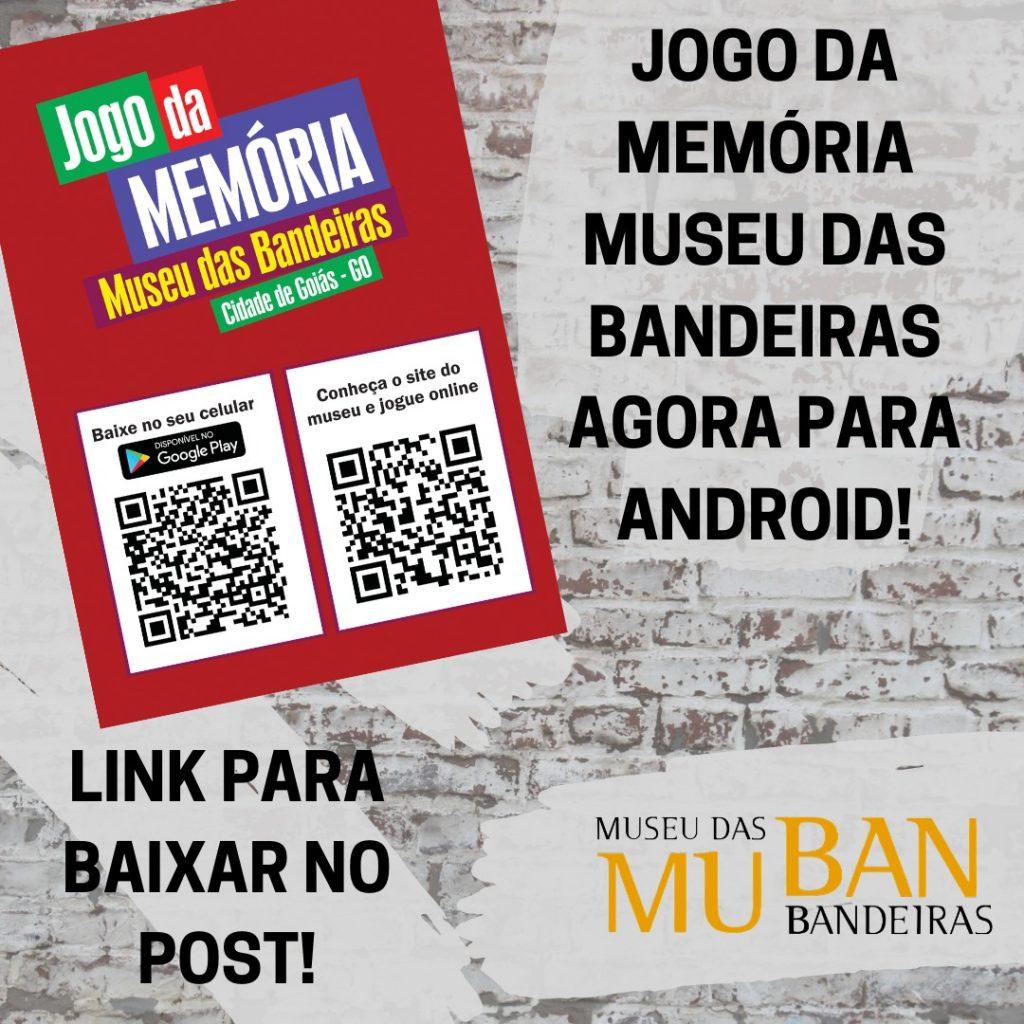 Jogo de Memória Museu das Bandeiras